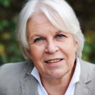 Porträt von Brigitte Bührlen. Foto: Privat.