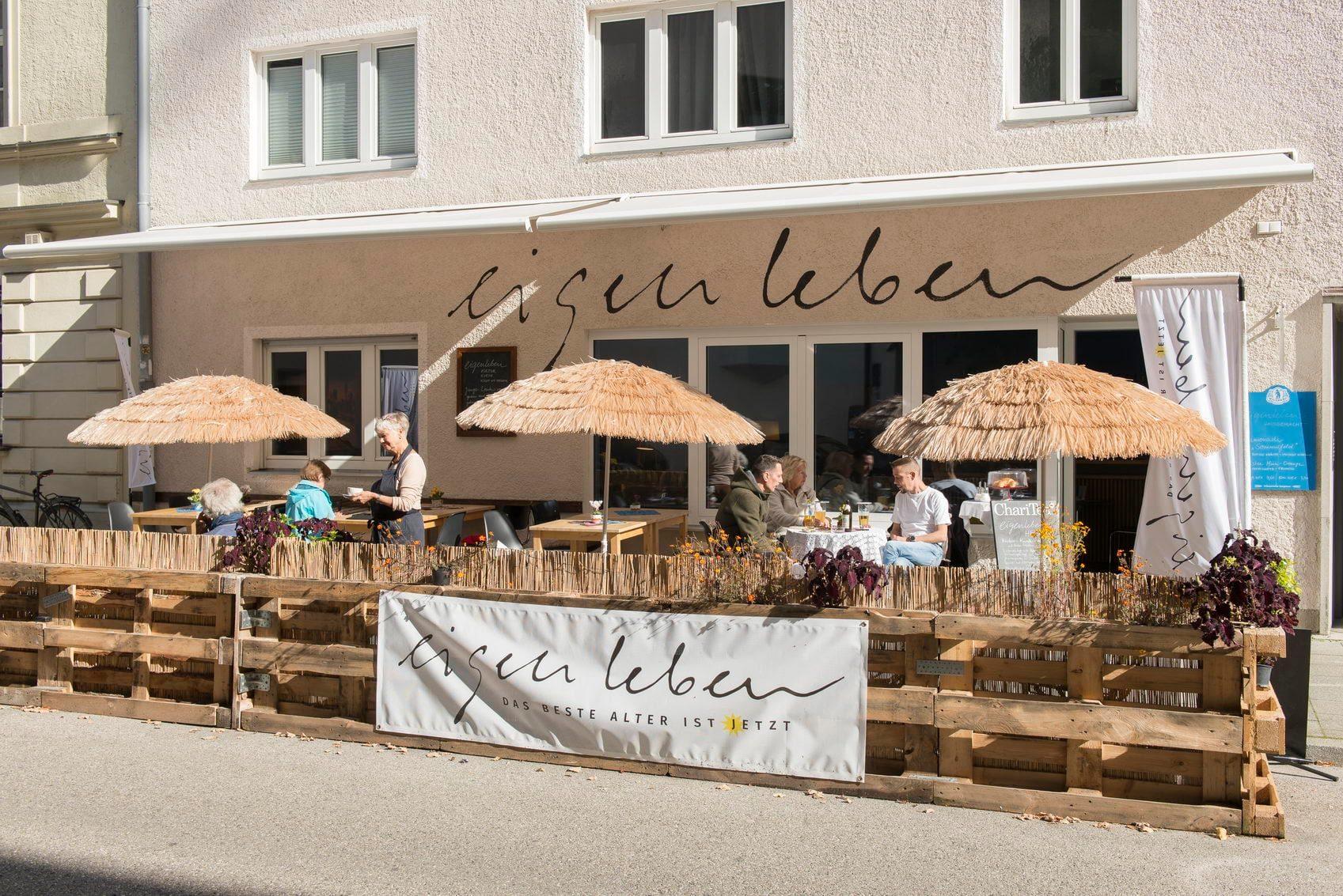 Eigenleben Cafe - Terrasse